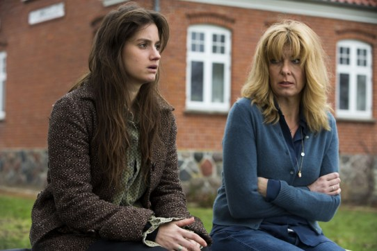 Paprika Steen (right) as Heidi and Danica Surcic (left) as Sanne in a scene from Silent Heart