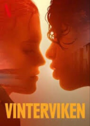 Swedish language Netflix poster for Vinterviken aka JJ+E