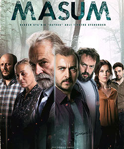 Turkish theatrical poster for the miniseries Innocent (Masum)