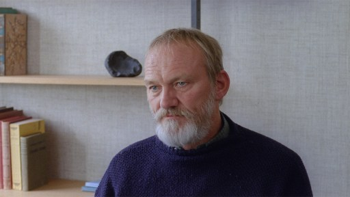 Ingvar Sigurdsson as Ingimundur in a scene from A White, White Day