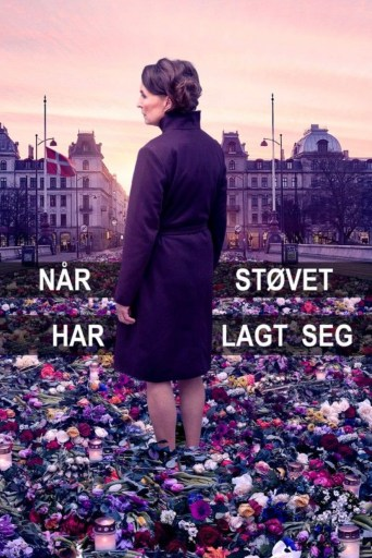 Danish-language theatrical poster for When the Dust Settles