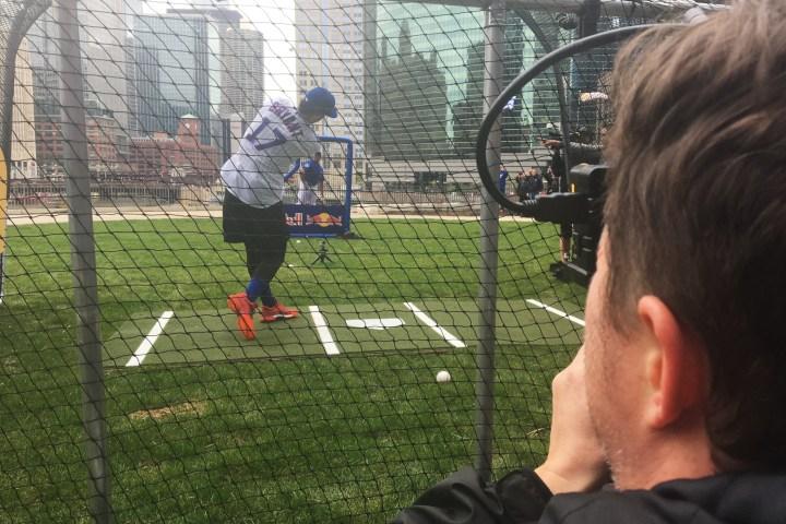 "Bridges captures ""Batting Practice"" for Cubs, Red Bull"