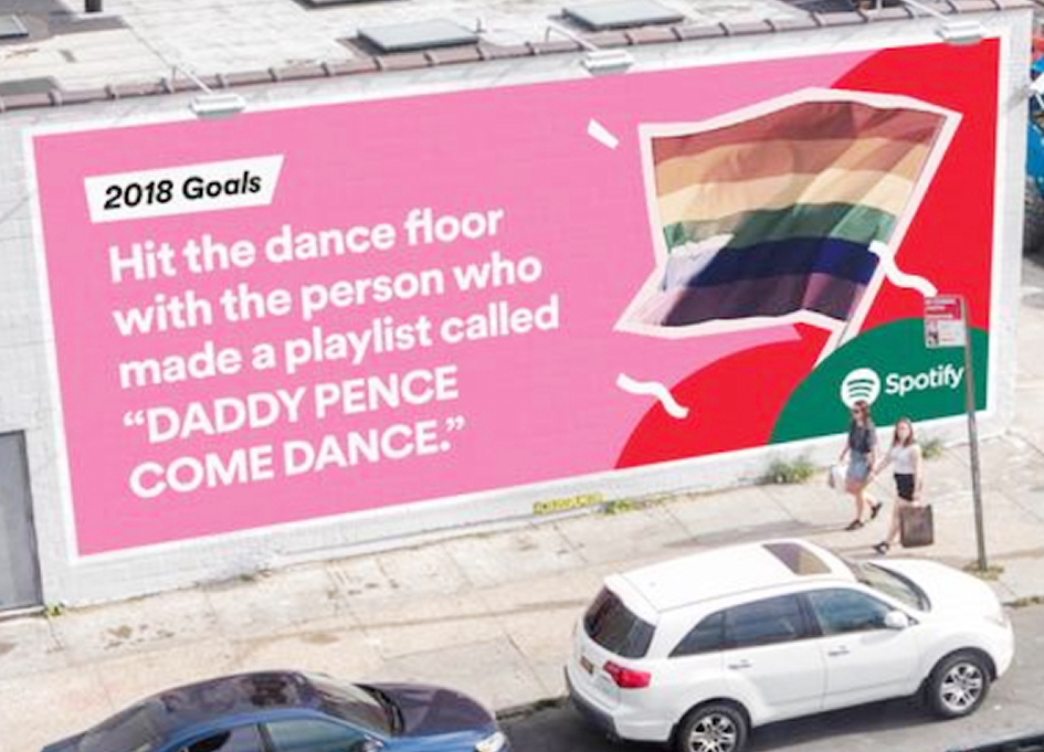 User data powers Spotify's new outdoor campaign
