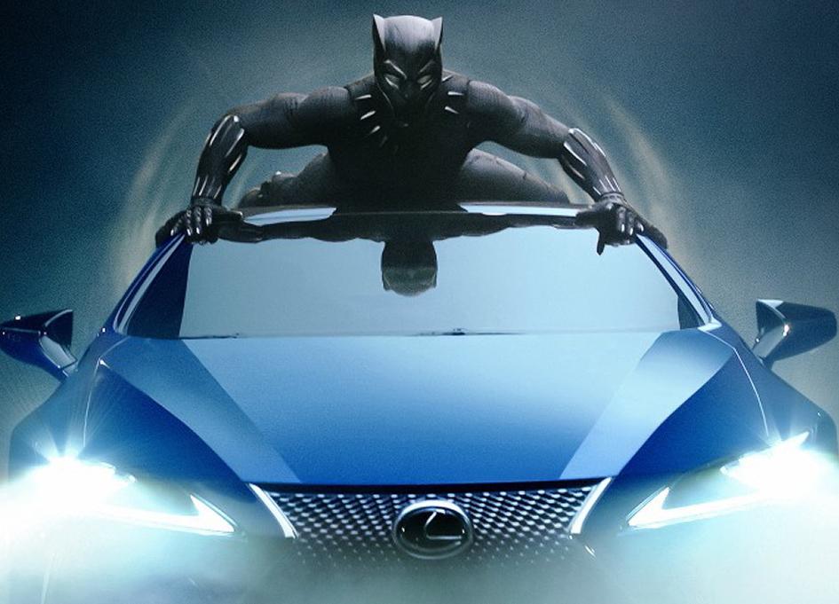 Lexus, Black Panther team up for Super Bowl LII
