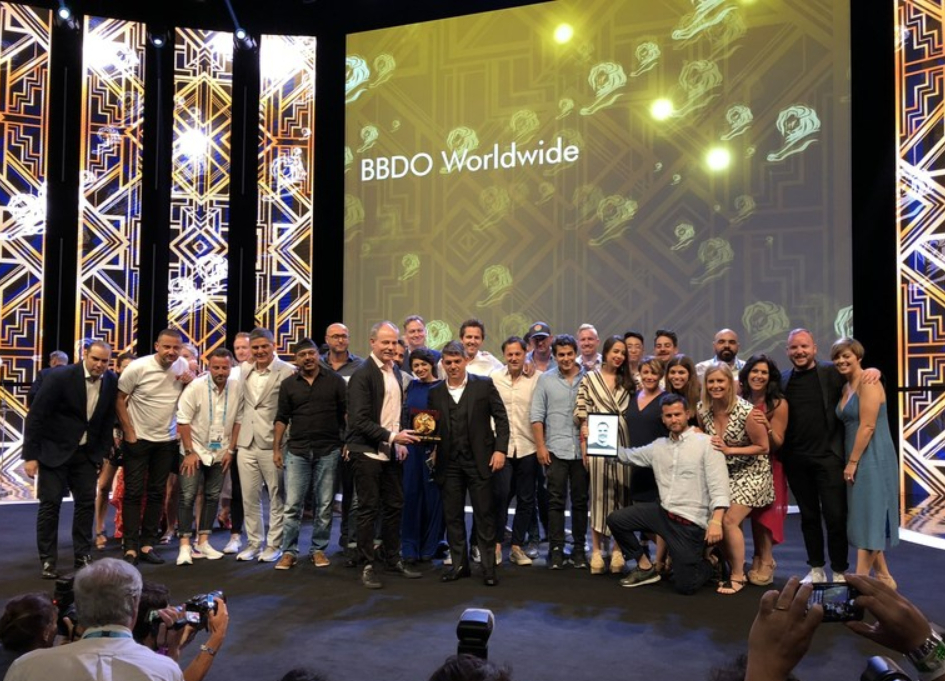 "BBDO named ""Network Of The Year"" for record 7th time at Cannes"