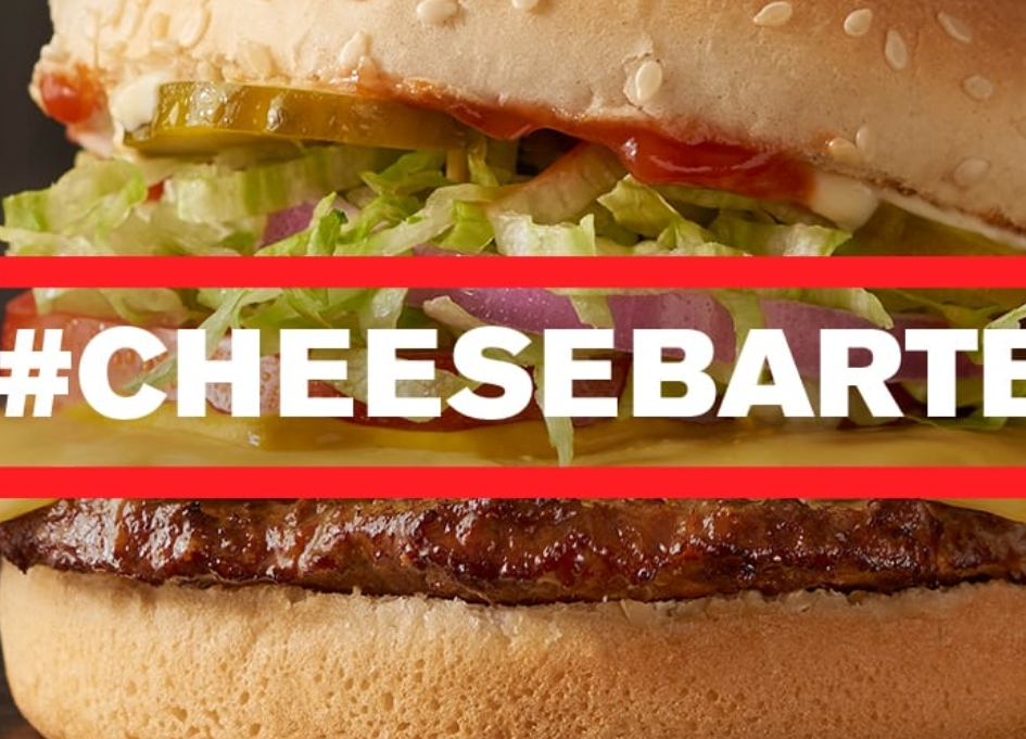 """Checkers & Rally's asks, """"What would you do for a burger?"""""""