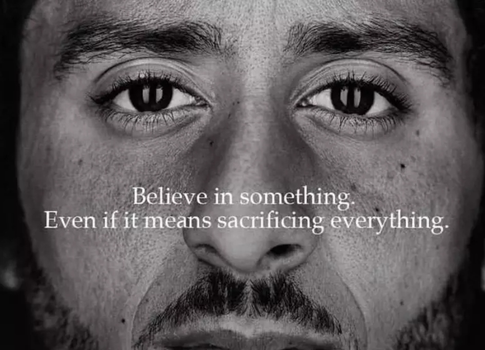 Kaepernick is face of Nike's 'Just do It' 30th anniversary campaign
