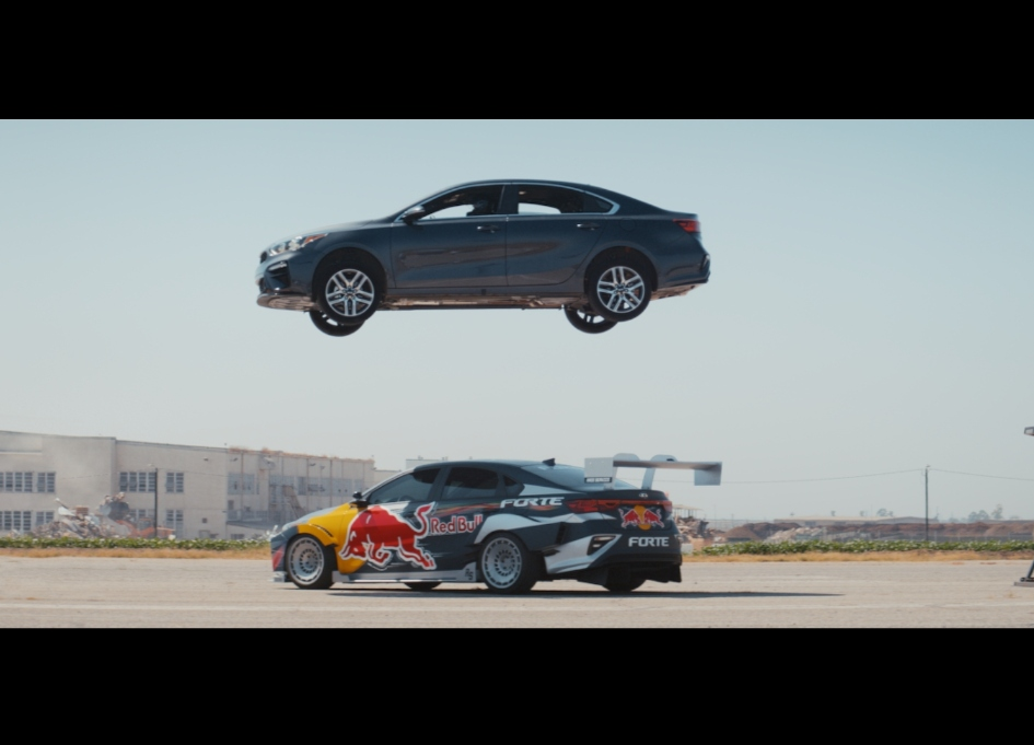 Pro race car phenom teams with director Jake Scott in badass Kia campaign