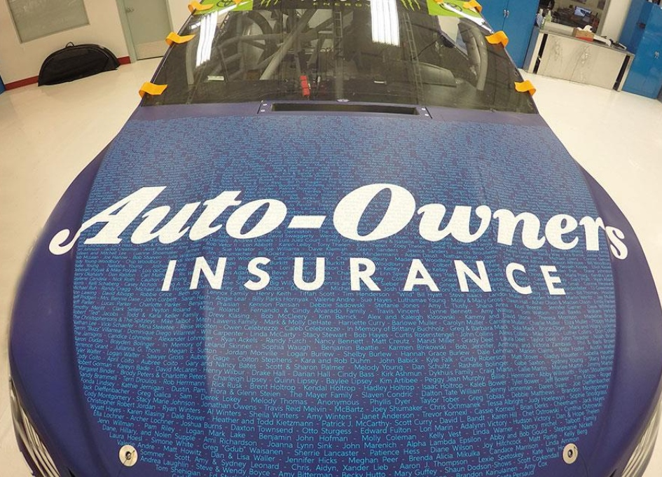 David&Goliath named Auto-Owners Insurance AOR
