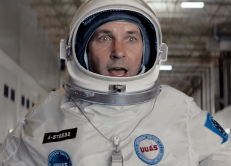 Pepsi Max sends 'Ant-Man' stars into space