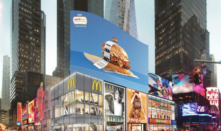 WWF Times Square Billboard