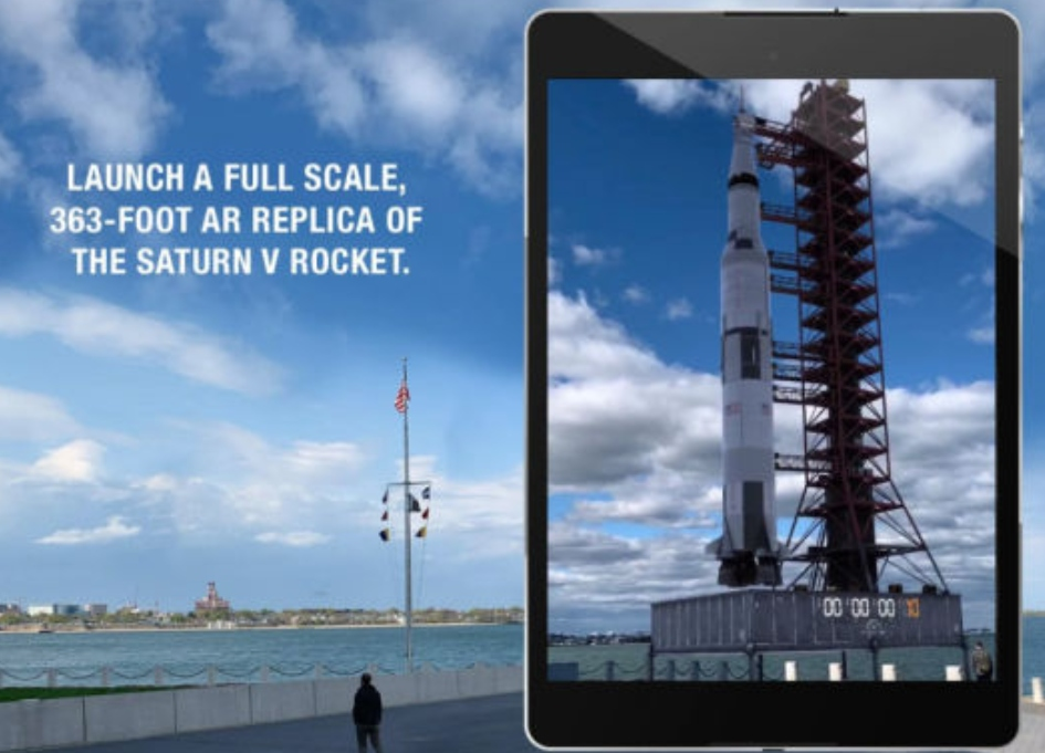 New AR app lets you relive moon landing