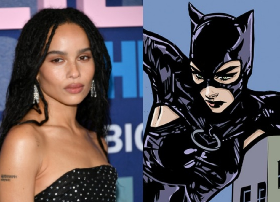 Zoë Kravitz cast as Catwoman in new 'Batman'