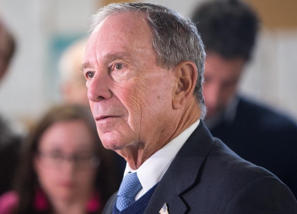 Bloomberg announces run for presidency
