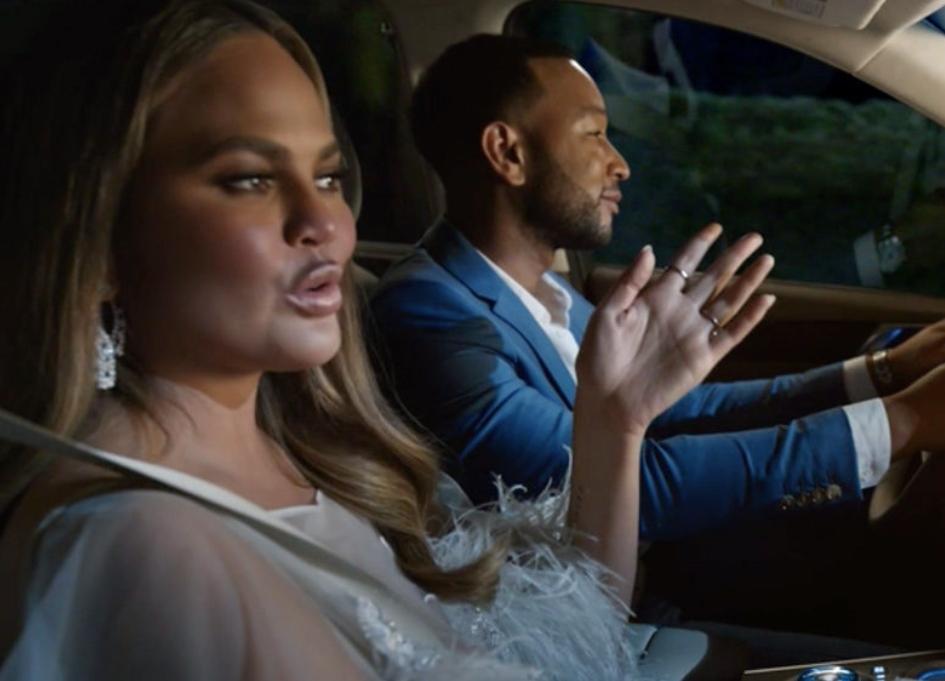 """John Legend, Chrissy Teigen say """"bye"""" to old luxury"""