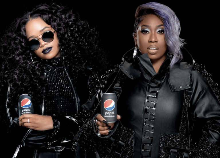 Pepsi Zero teases Super Bowl with Missy Elliott & H.E.R.