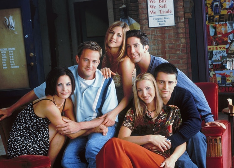 They'll be there for you… again. 'Friends' reunites