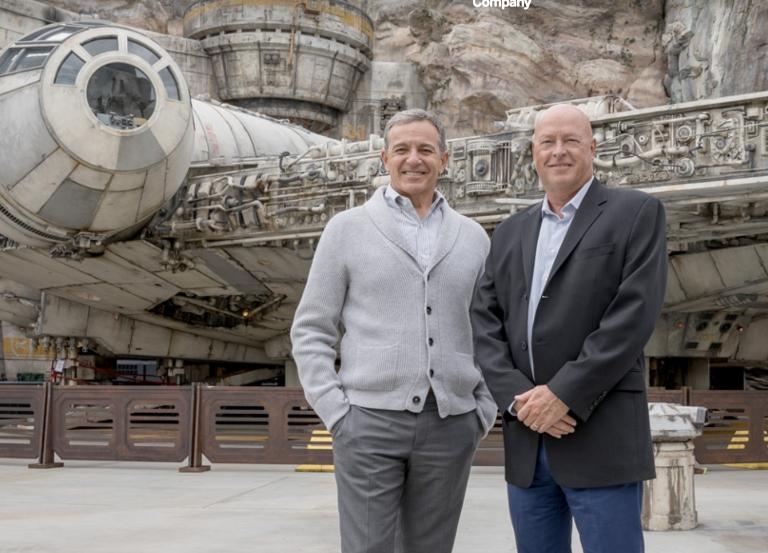 Bob Chapek replaces Robert Iger as Disney CEO