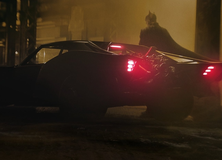 The Batmobile has been revealed on social media