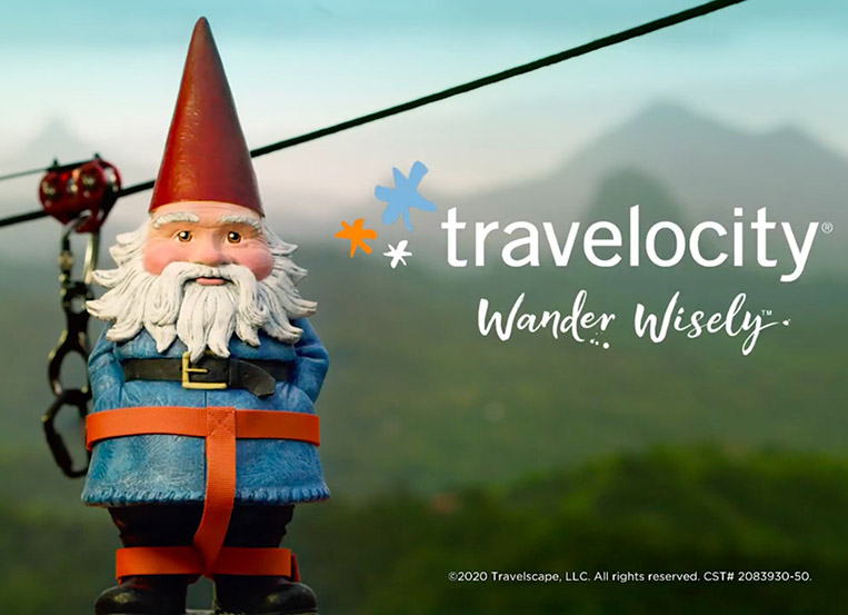 "Sean Thonson directs Travelocity's ""Wander Wisely"""