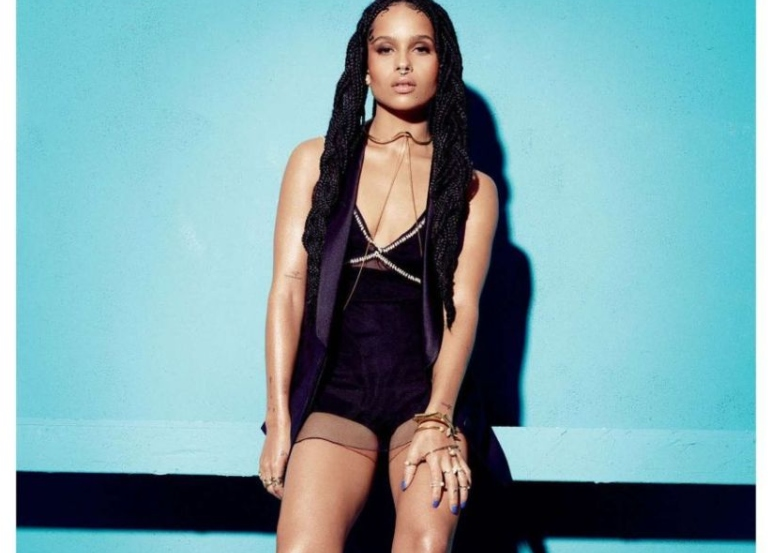 Zoë Kravitz's still training as Catwoman in lockdown