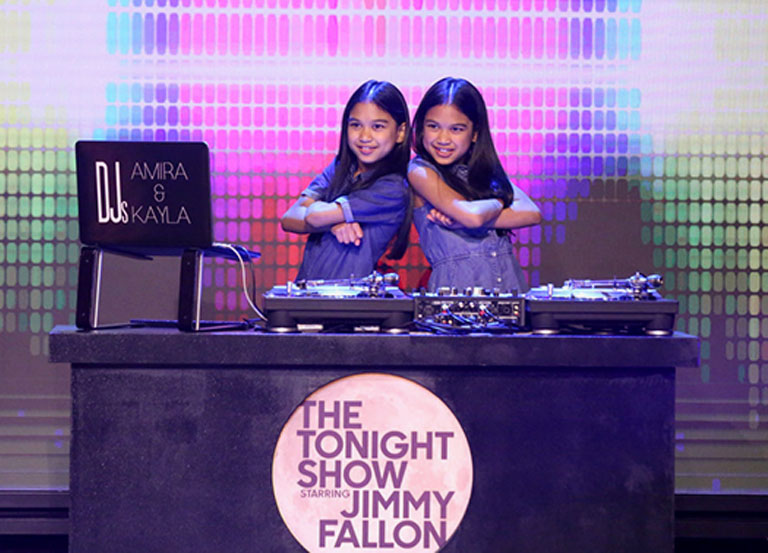 Growing up and blowing up: meet DJ's Amira and Kayla