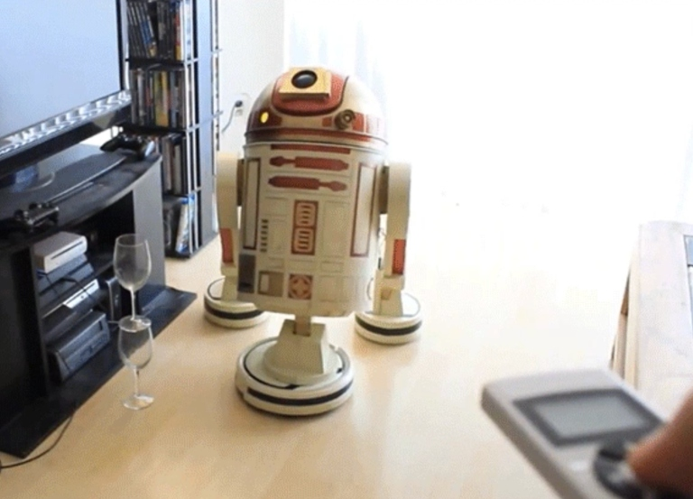 Turning love of 'Star Wars' into a functioning vacuum