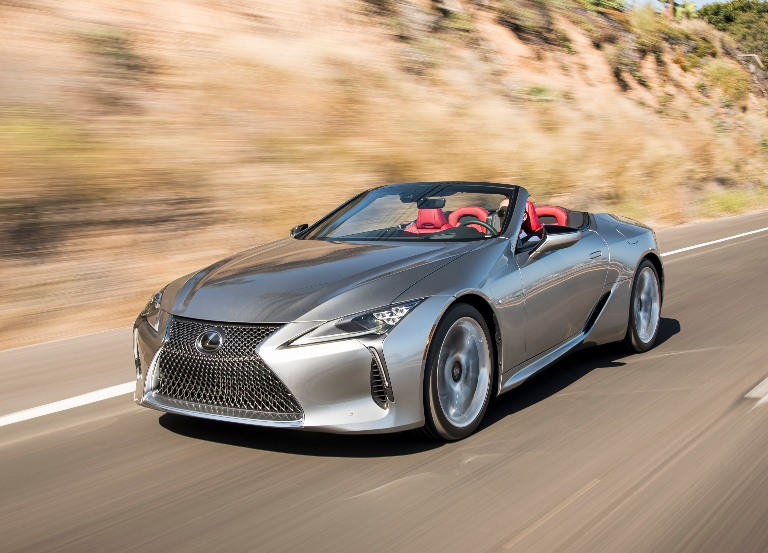 Open road and possibilities with new Lexus LC 500