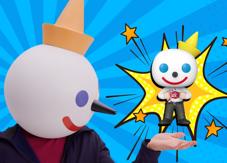 Jack in the Box partners with Funko POP! for Comic-Con