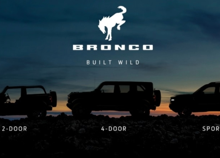 Ford and Disney reveal all-new Ford Bronco family