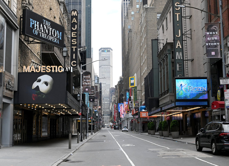 Broadway will remain shut down until early Jan 2021