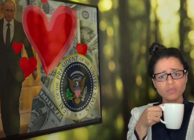 Sarah Cooper outtrumps Trump's cognitive test