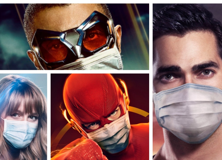 The CW launches super new COVID-19 mask campaign