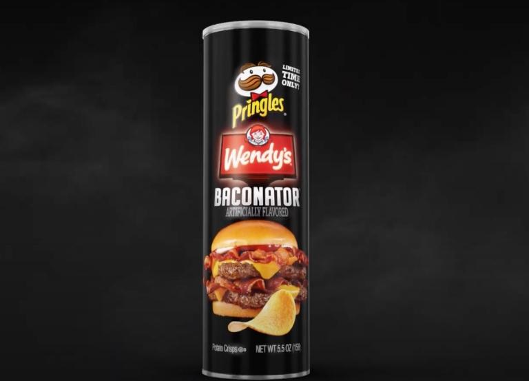 Pringles Baconator Crisps explode on Twitter
