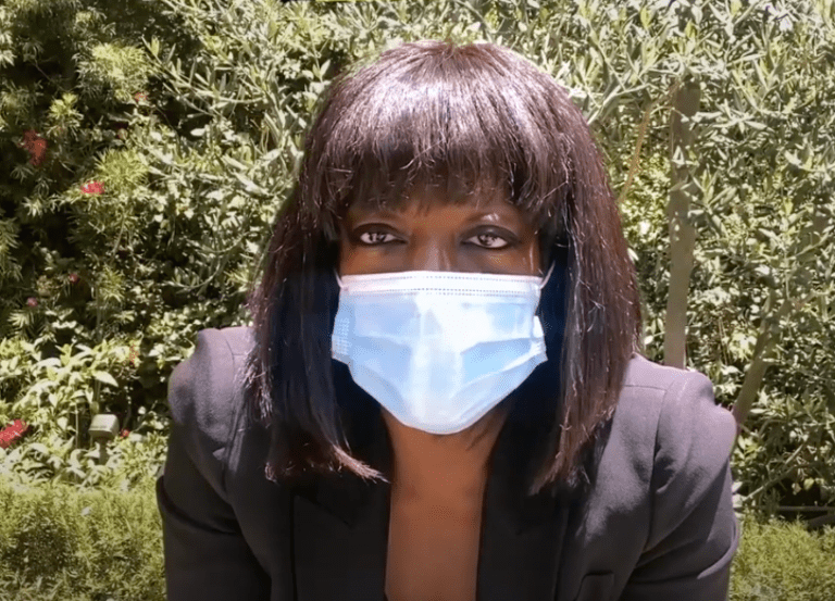 Black celebrities inspire face masks in new PSA