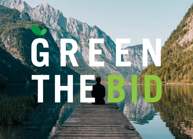 Green The Bid launches sustainable production practices