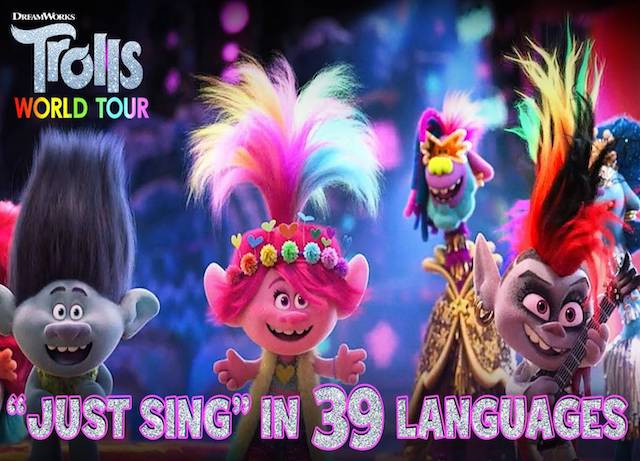 Watch the Just Sing video from 'Trolls World Tour'
