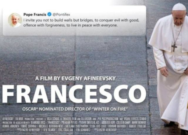 Pope Francis supports gay marriage in new doc