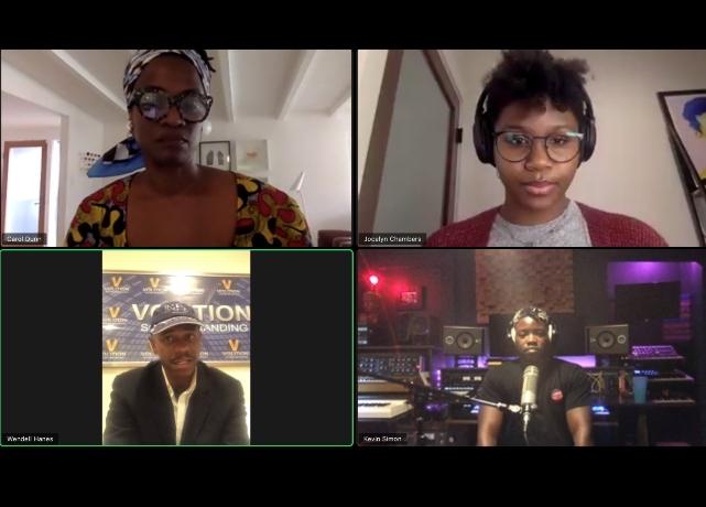 AMP Webinar: Black Composers share experiences