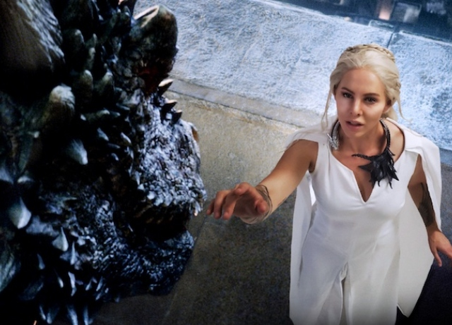 Brooke Le's cosplay is real a mother of dragons