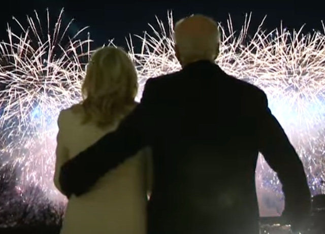Watch America celebrate inauguration of Joe Biden
