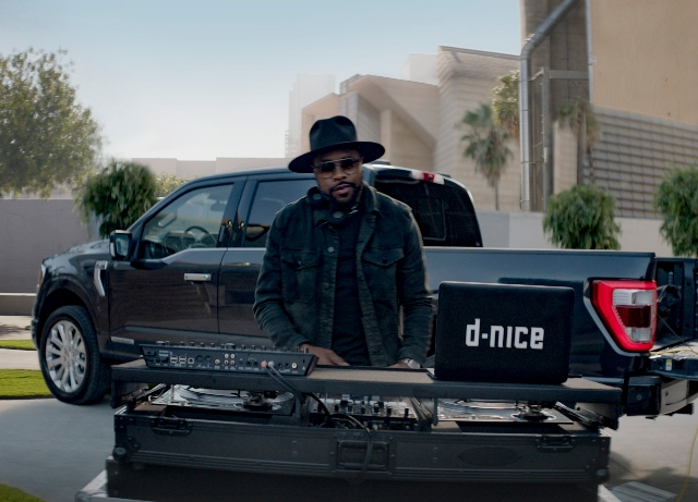 DJ D-Nice is more than tough in new 2021 F-150