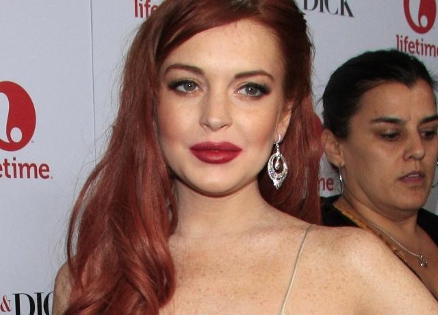 Lindsay Lohan teams with tech startup Vanywhere