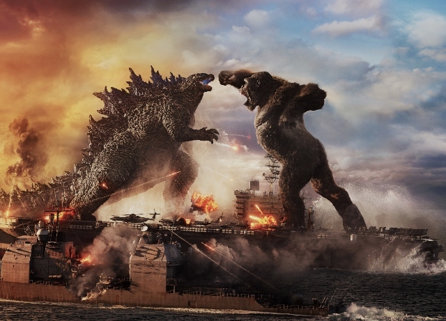 Godzilla trades punches with King Kong in first trailer