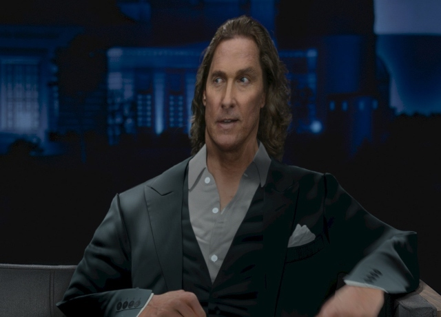 Matthew McConaughey is #FlatMatthew in Doritos spot