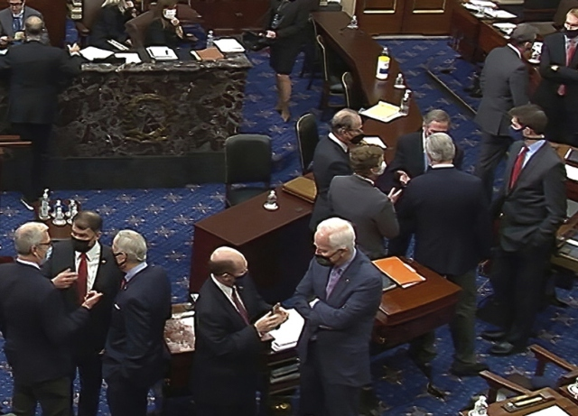Republican Senators called out after acquitting Trump