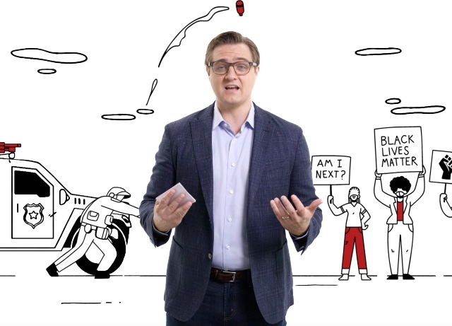 Hue&Cry goes all out for All In's Chris Hayes