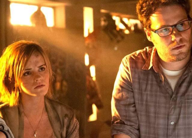 Seth Rogen clears rumors of Emma Watson 'storm off set'