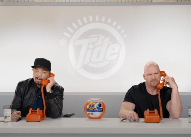 Ice-T, Stone Cold Steve Austin take Tide cold calls