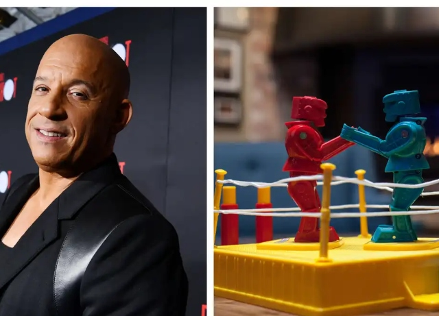 Vin Diesel to star in Rock 'Em Sock 'Em Robots